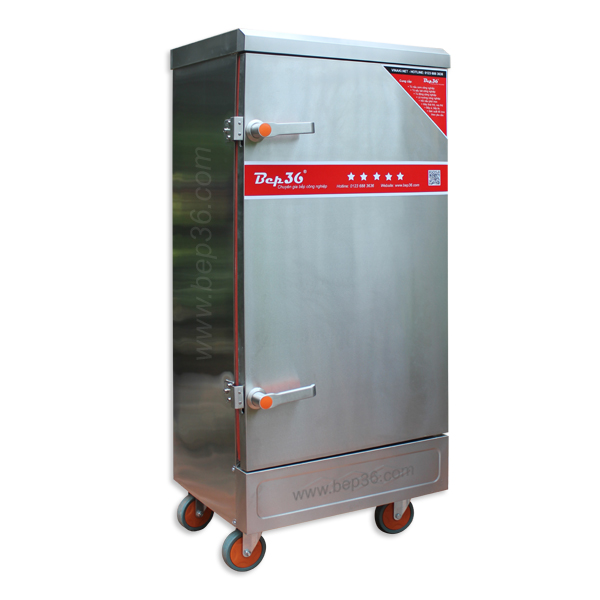 Cung cấp tủ nấu cơm 12 khay điện cho trường Mầm non Sơn Ca