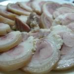 Thịt ba chỉ thái miếng mỏng, vừa ăn