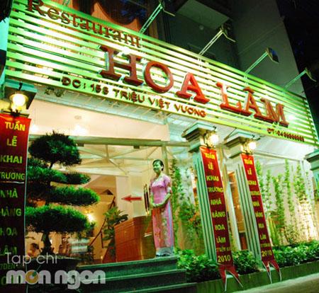 Nhà hàng hải sản Hoa Lâm
