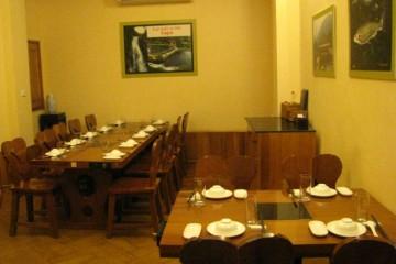 Nhà hàng thác Bạc Sa Pa tin dùng tủ sấy bát cho bếp ăn