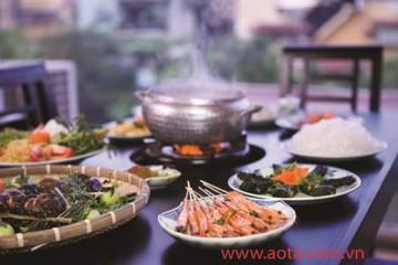 Tủ đông công nghiệp có mặt trong gian bếp của nhà hàng Ao Ta