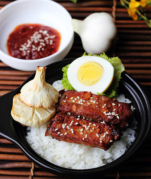 Sườn nướng Hàn Quốc