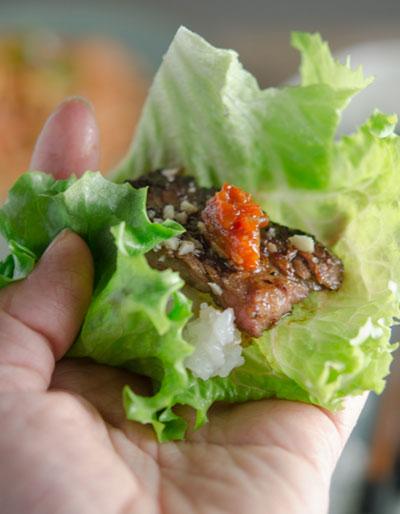 Món sườn nướng kiểu Hàn Quốc