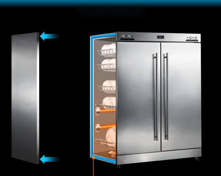 Bep36 cung cấp tủ sấy bát công nghiệp cho nhà hàng hà Nội Garđen