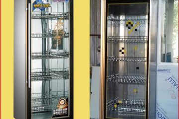 Tủ sấy bát công nghiệp 1 cánh kính YTD-388A – dành cho bếp ăn vừa