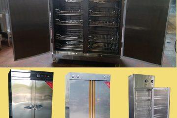 Tủ sấy bát công nghiệp 2 cánh inox – giá ưu đãi tại Bep36
